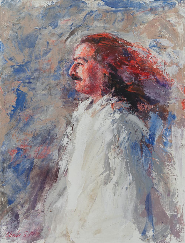 1991-4_Liz's Baba (91-4) 40x30 Liz Sacalis