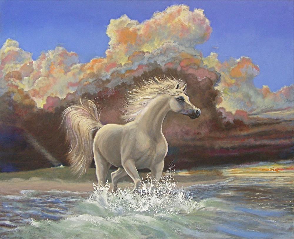 2013-2_White-Horse-#1-(13-2)-Oil-52x64