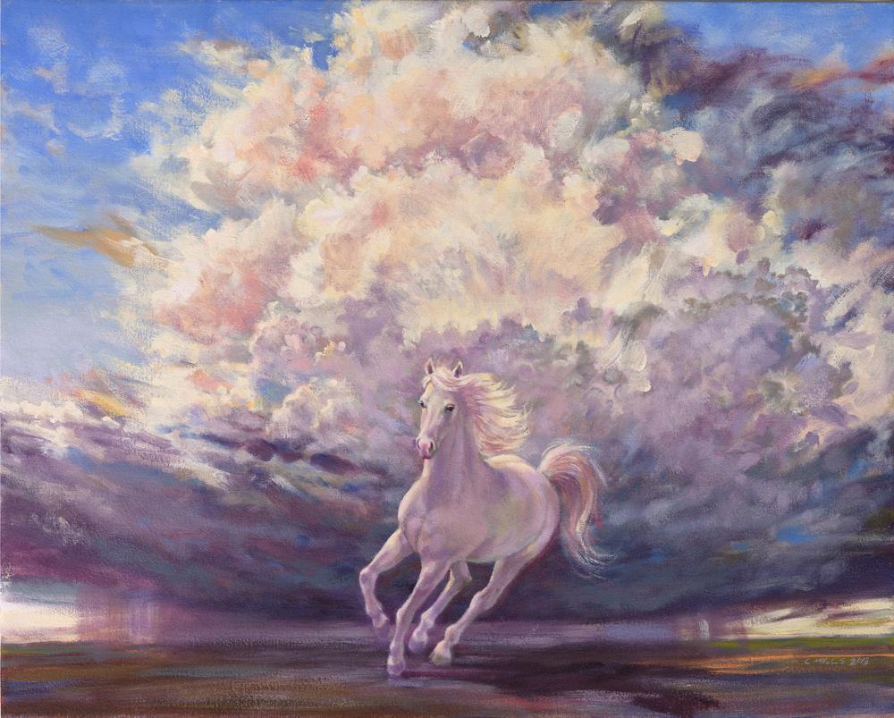 2013-4_White-Horse-#3-(13-4)-Oil-24x30