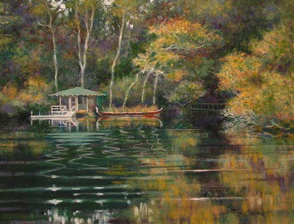 _2002-7_The-BoatHouse-(02-7)-Oil-11x14-owner-unknown