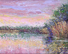 _2003-6_Long-Lake-Morning-(03-6L)-Oil-8x10-owner-unknown