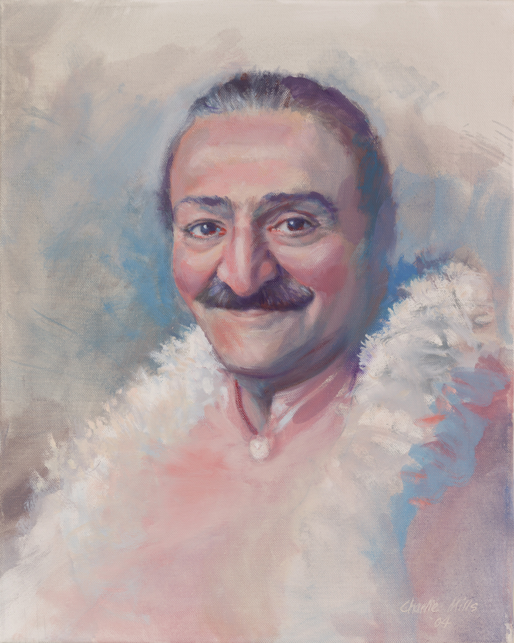 2004-5_Meher-Baba,-1956-(04-5)-Oil-20x16-Gordon-Campbell