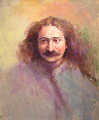 2005-1_Meher-Baba-in-London-1931-(05-1)-Oil-24x20-Gordon-Campbell